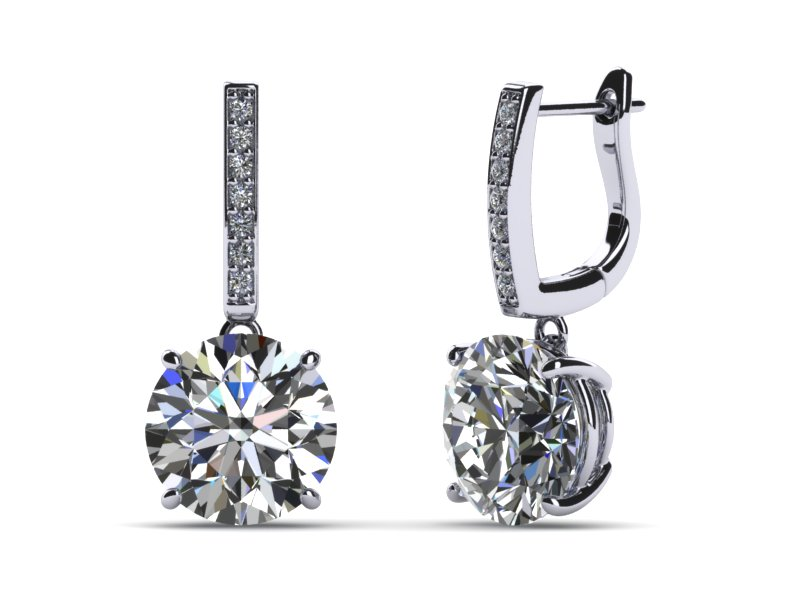 champagne p grisogono diamond htm earrings de gold