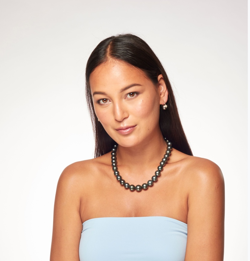 12mm to 14mm Tahitian Pearl Necklace