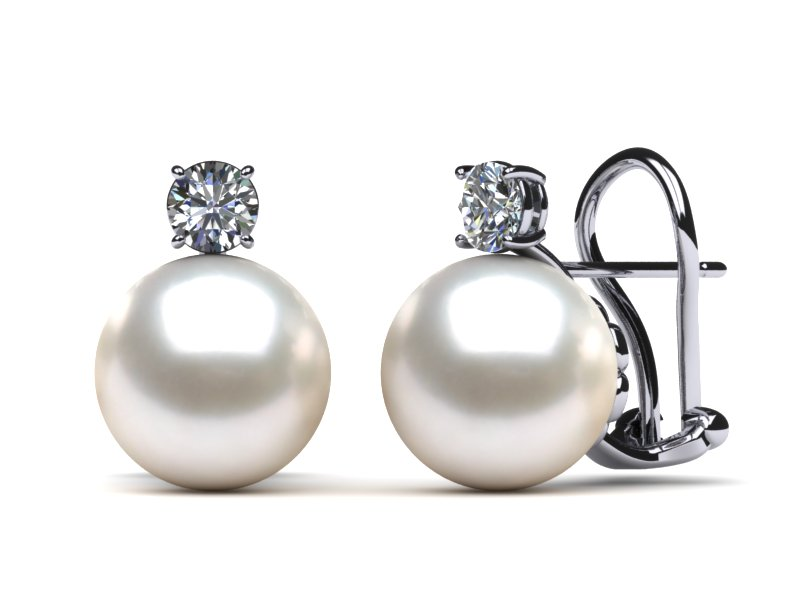 How to buy Pearl & Diamond Earrings