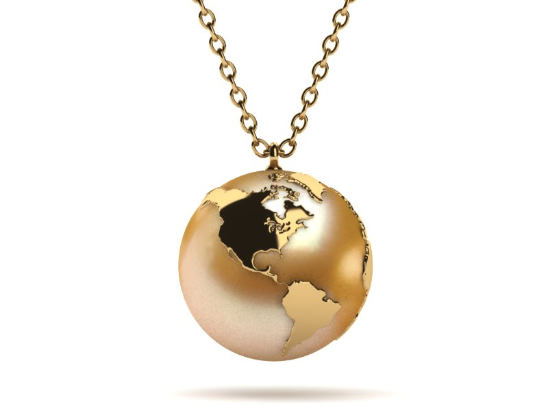 Oyster Golden Pearl Pendant