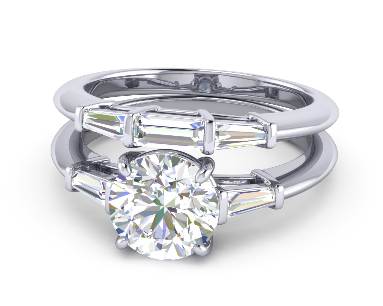 gold platinum ring set and products love elvish palladium white jens hansen wedding in