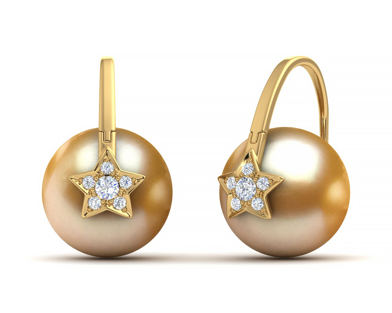 How to buy Arc De Triomphe Pearl Earrings